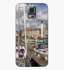 View of yachts in the old port, La Rochelle France Case/Skin for Samsung Galaxy