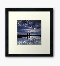 Fishing for Angels, Cronulla NSW Framed Print