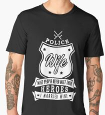 Policewoman wife Men's Premium T-Shirt