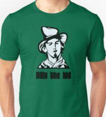 billy the kid criminal cowboy wild west Unisex T-Shirt