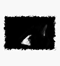 Despair Polygon Art Photographic Print