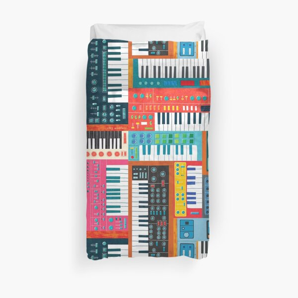 Synthusiast Duvet Cover