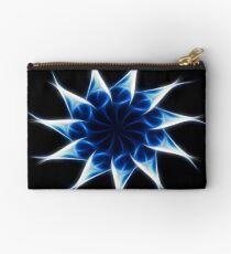 Blue Kaleidoscope 9 Studio Pouch