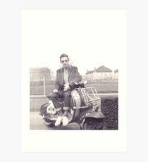 Mods Lambretta TV175 1964 Scooter Club Art Print