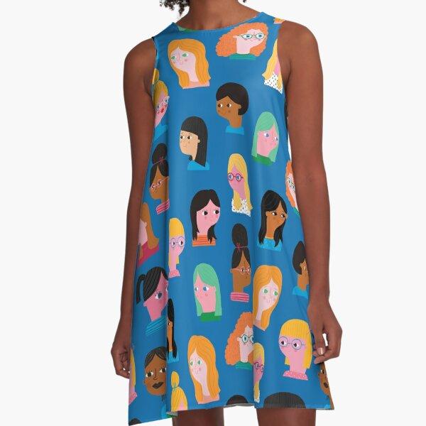 Girls A-Line Dress
