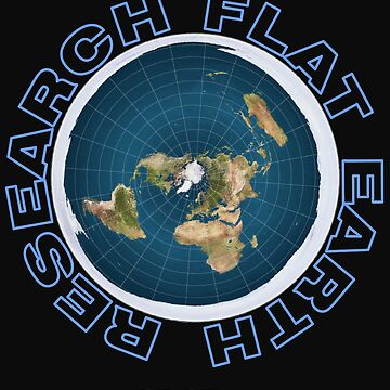 Research Flat Earth - Flat Earth Map by truthpirates