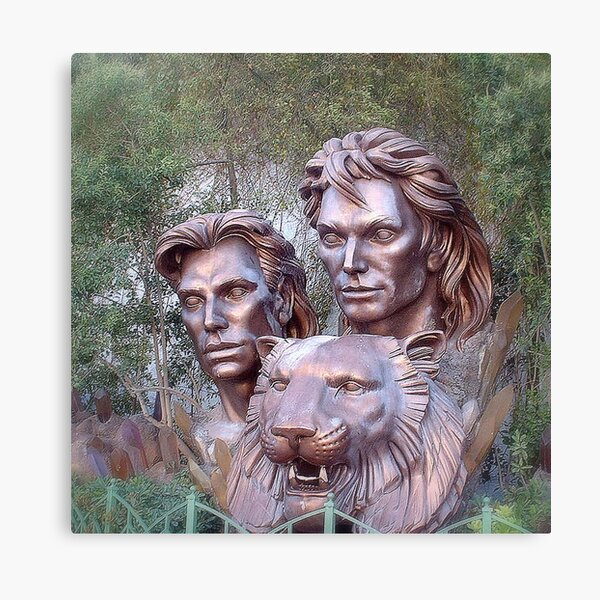 Siegfried & Roy Canvas Print