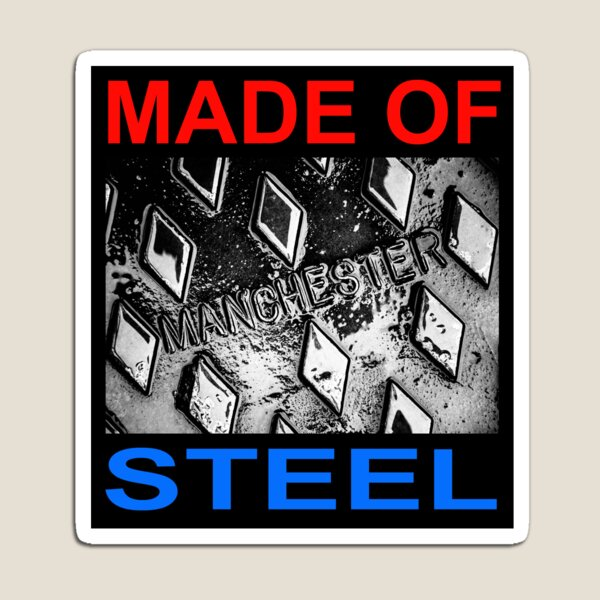 Manchester Made of Steel Magnet