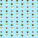 «Patrón de Somewhere Over The Rainbow» de EuGeniaArt
