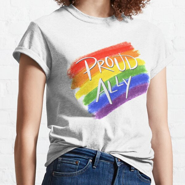 Proud LGBT Ally Classic T-Shirt