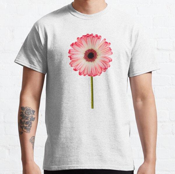 Pink gerbera flower Classic T-Shirt