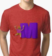 Letters - Boy - YWZM 9 Tri-blend T-Shirt
