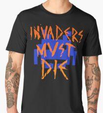 INVADERS MUST DIE III Men's Premium T-Shirt