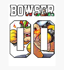 Bowser Jersey - Mario Photographic Print