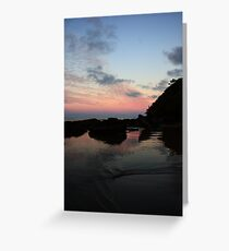 Etty Bay Sunset Greeting Card