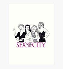 Sex & the City Art Print
