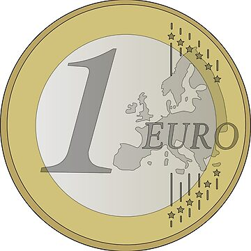 1 Euro coin by Kama42