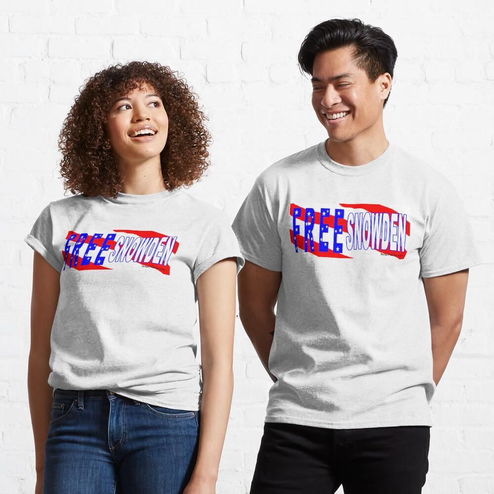 Free Snowden Classic T-Shirt