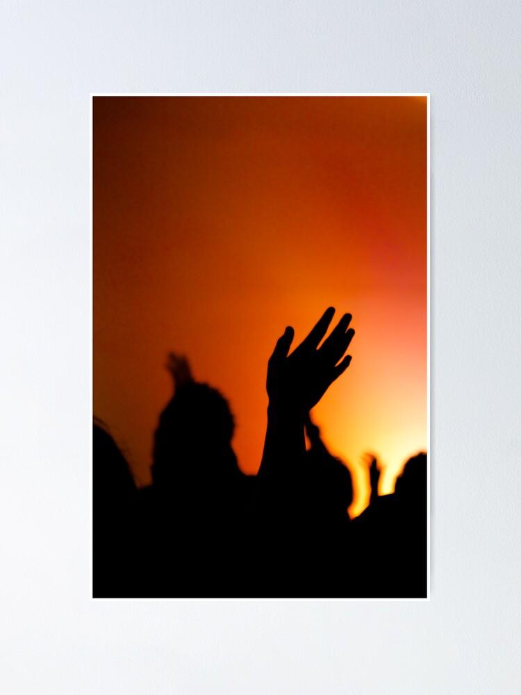 Alternate view of Worship Poster