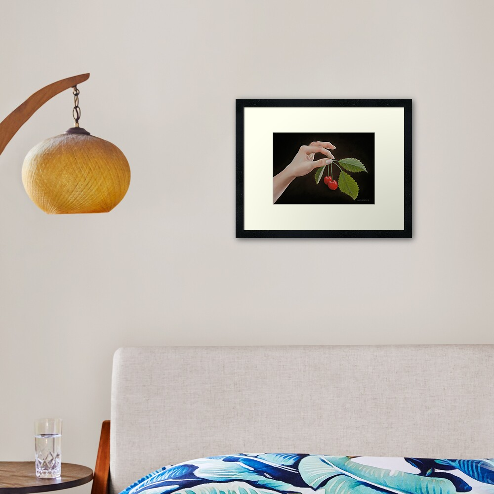 The Selection Framed Art Print