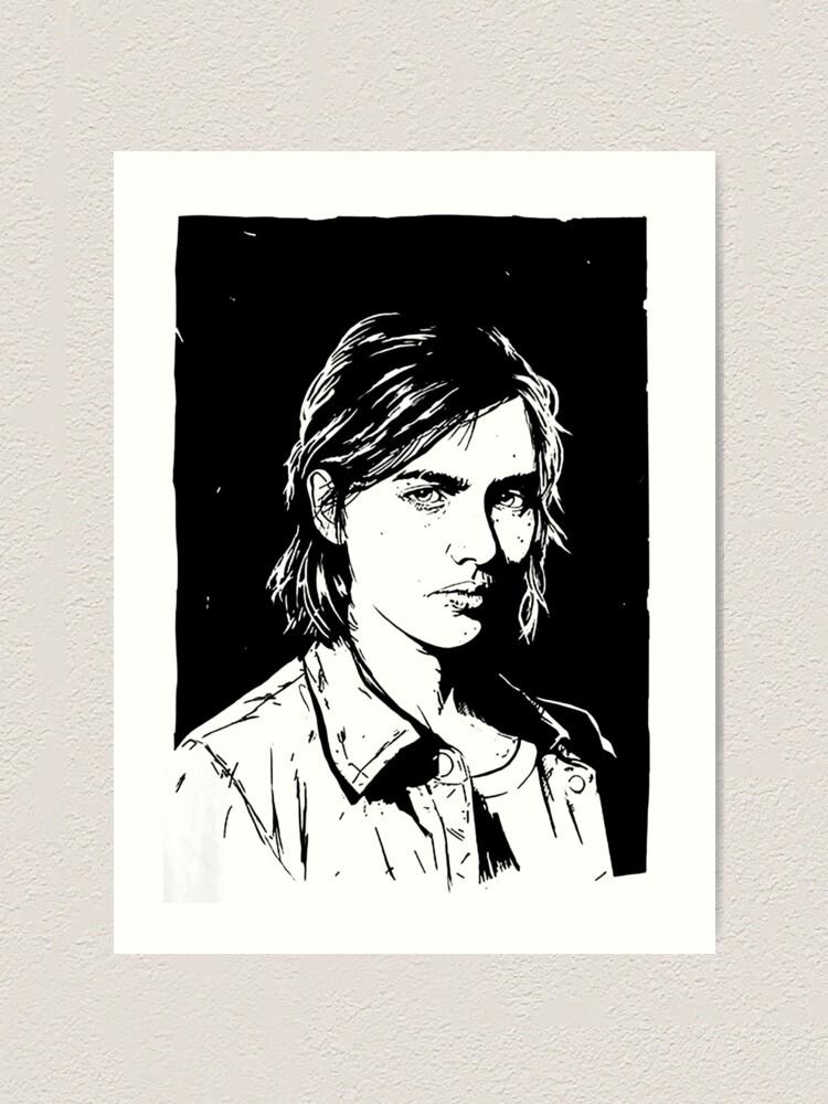 The Last Of Us Part Ii Ellie Art Print