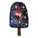 Watercolor Galaxy Popsicle by shashira