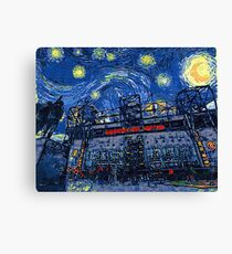 Starry Night in Manchester - www.art-customized.com Canvas Print