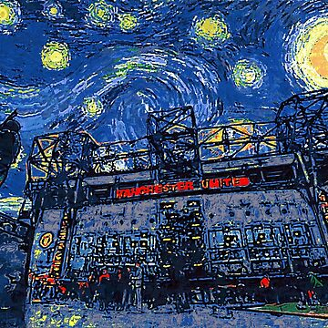 Starry Night in Manchester - www.art-customized.com by art-customized