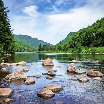 Jacques Cartier River by unikatdesign
