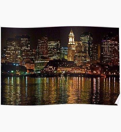 Boston Light Poster