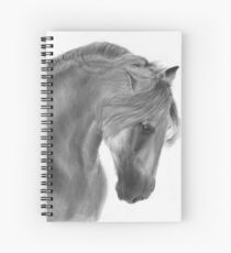 Majestic horse Spiral Notebook
