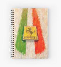 Ferrari Detail Spiral Notebook