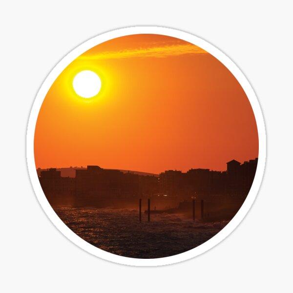 Brighton Sunset Sticker