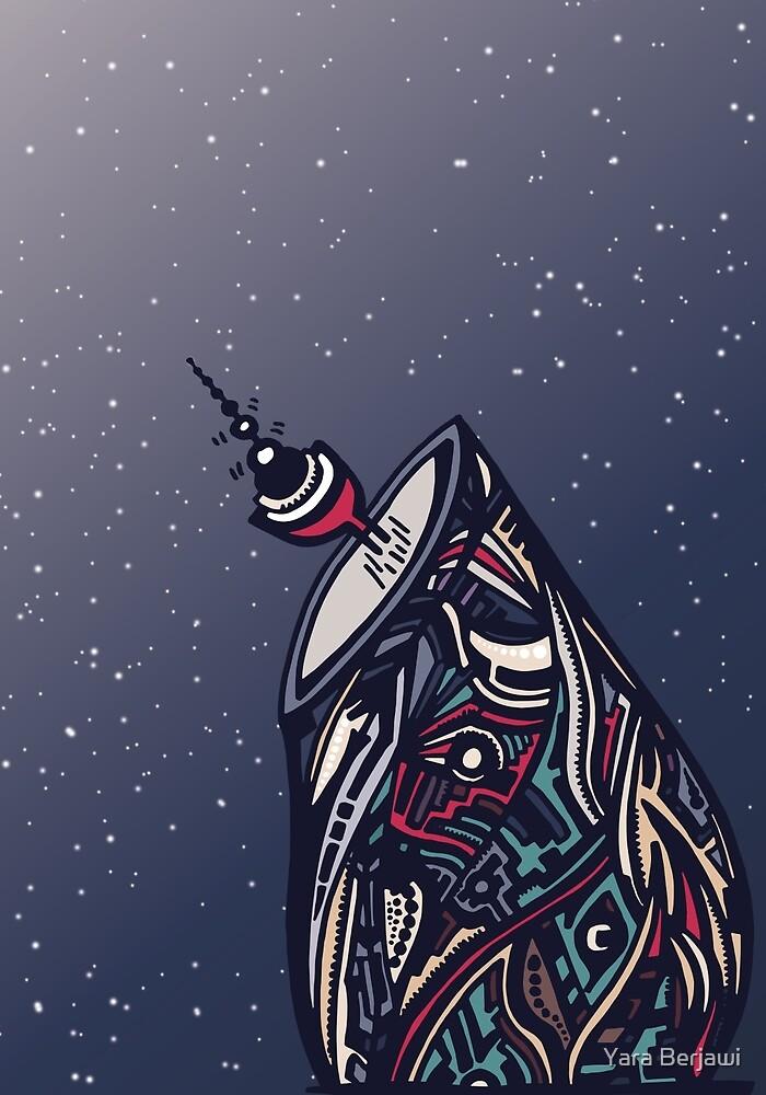Calling Space by Yara Berjawi
