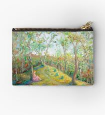 Girl in the Woods in the style of Renoir Studio Pouch