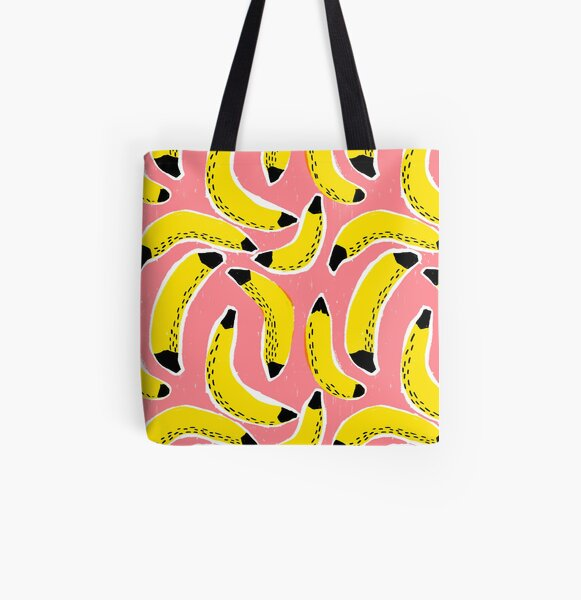 Bananas! All Over Print Tote Bag