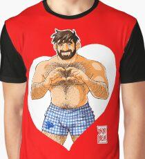 ADAM I LOVE YOU - HEART Graphic T-Shirt