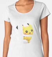 SMASH BROS ULTIMATE - 19 PICHU Women's Premium T-Shirt