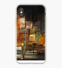 Alone in the City iPhone Case