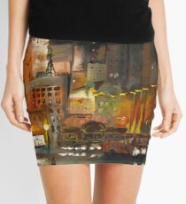 Alone in the City Mini Skirt