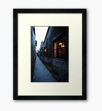 Laneway Framed Print