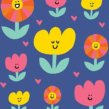 Happy Flowers by amywalters