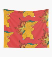 Fire Cyndaquil Wall Tapestry