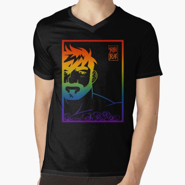 ADAM LIKES PRIDE V-Neck T-Shirt