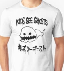 Kids See Ghosts Ghost Logo Unisex T-Shirt