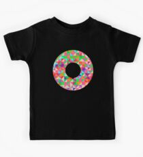 Geometric Circle Round Kids Tee