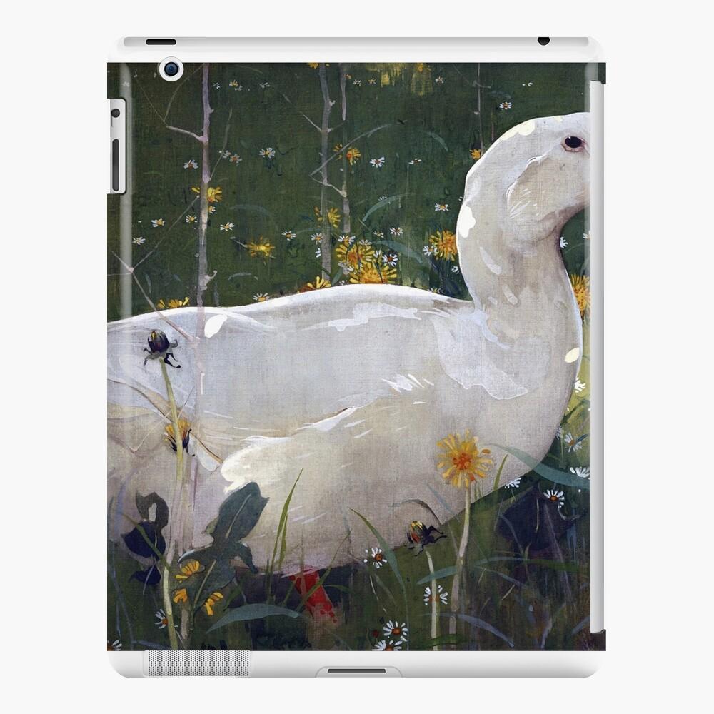Joseph Crawhall The White Drake Funda y vinilo para iPad