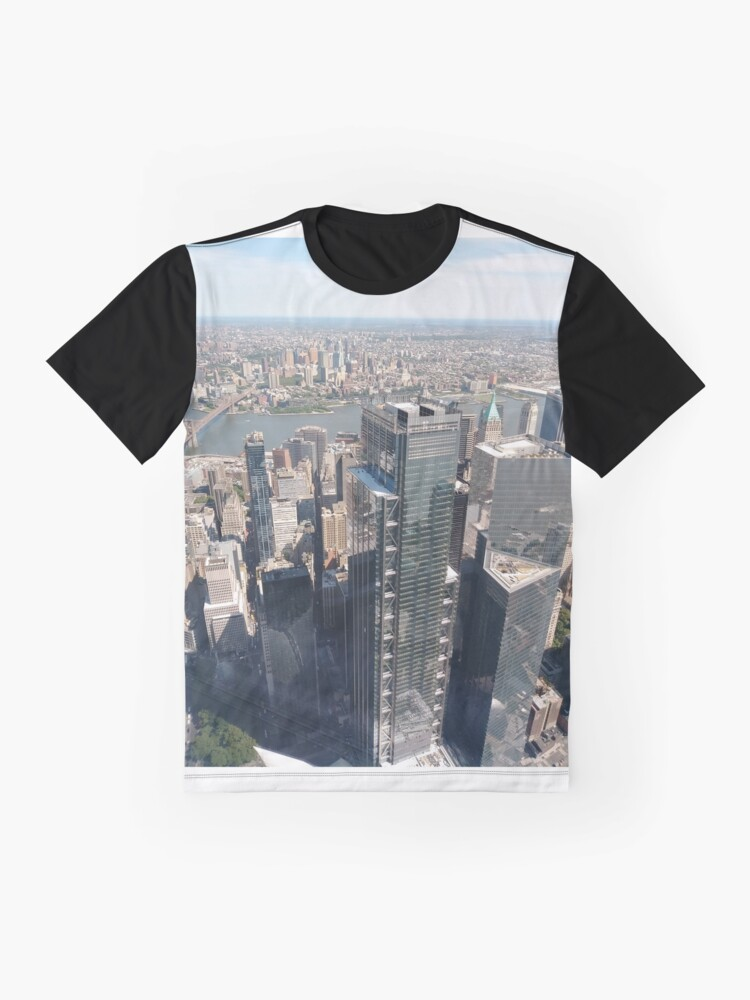 Alternate view of Manhattan, #Manhattan, New York, #NewYork, NYC, #NYC, New York City, #NewYorkCity Graphic T-Shirt
