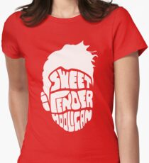 Sweet and Tender Hooligan (White Only) Women's Fitted T-Shirt