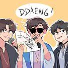 BTS: DDAENG (ft. TAEHYUNG)!!! by randomsplashes